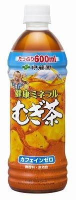 伊藤園 健康ミネラル麦茶 600ml 1ケース