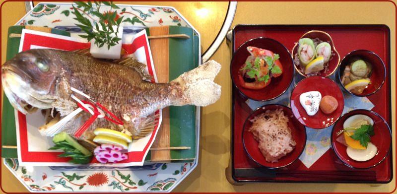 お食い初め膳1