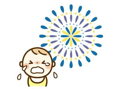 赤ちゃん花火
