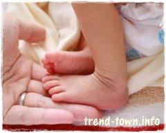 二人目育児 新生児足