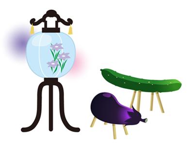 お盆になすときゅうりを飾る意味は?作り方から処分方法まで詳しく!