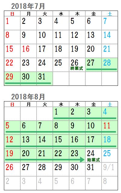 2018年夏休み3