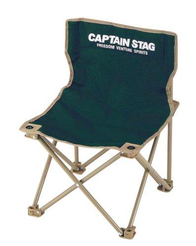 キャプテンスタッグ チェア CS コンパクト チェア ミニ グリーン M-3875