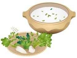 「七草粥」とは?由来と簡単レシピをご紹介!!