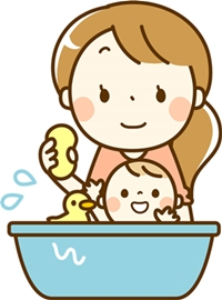 乳児湿疹のケア*顔の洗い方がそれぞれ違うょ!!