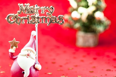 クリスマスメッセージカード2