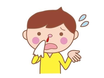 子供鼻血10