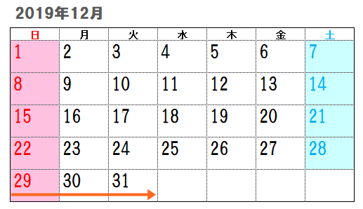 2019年12月
