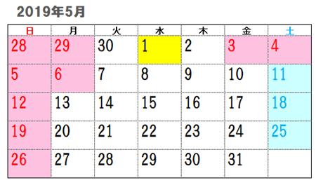 2019年改元記念日