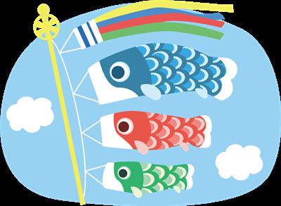 鯉のぼりの由来を詳しく!子供にも分かりやすく説明します!