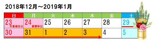 銀行の年末年始営業!2018-2019