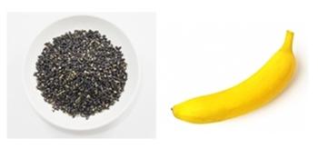 豆乳黒ごまバナナジュース