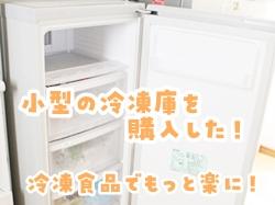 小型冷凍庫家庭用