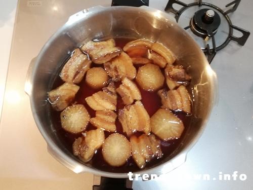 ゼロ活力鍋豚の角煮