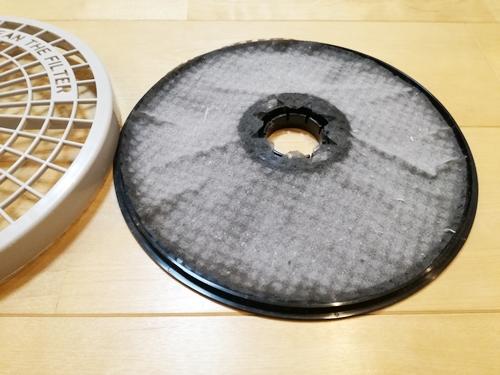 衣類乾燥機 紙フィルター