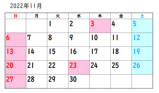 2022年11月